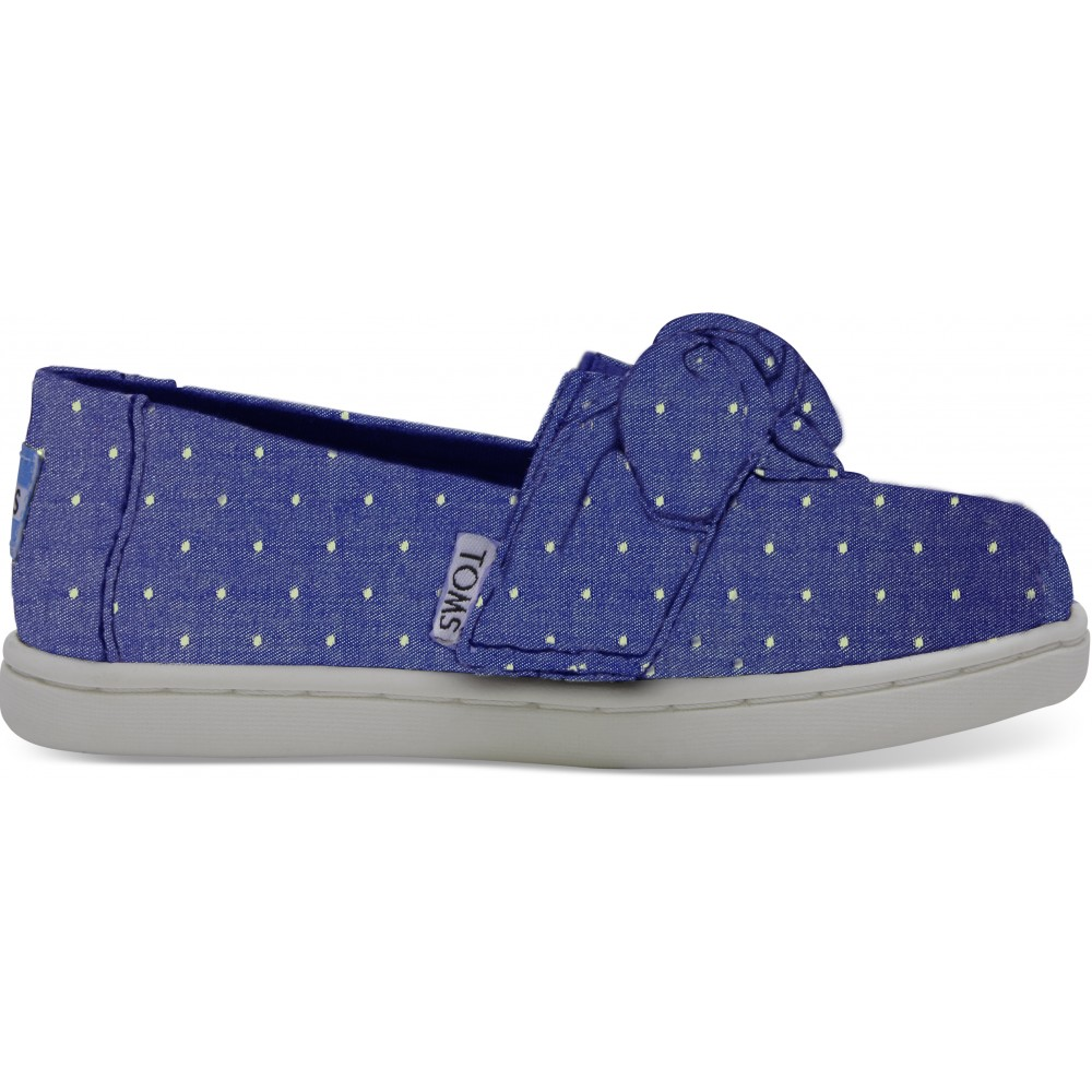 Toms Imperial Blue Dot Chambray 10011441 Μπλε