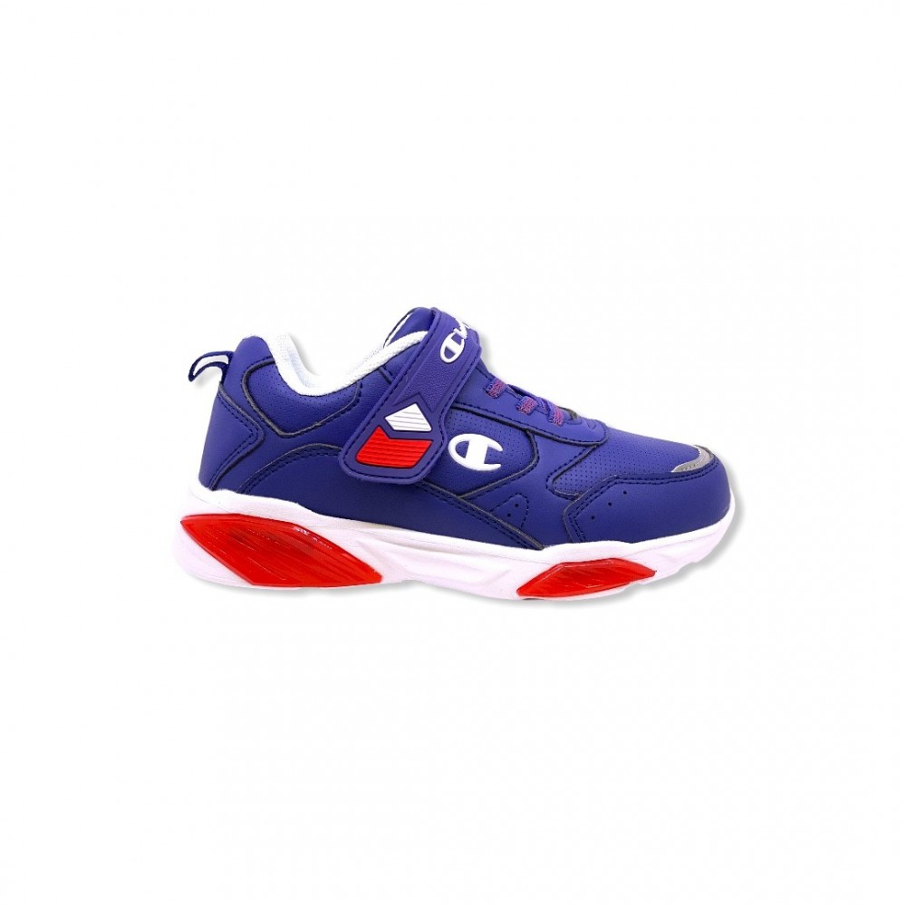 Champion Low Cut Shoe WAVE B PS S32129-F20-BS036 Μπλε με φωτάκια