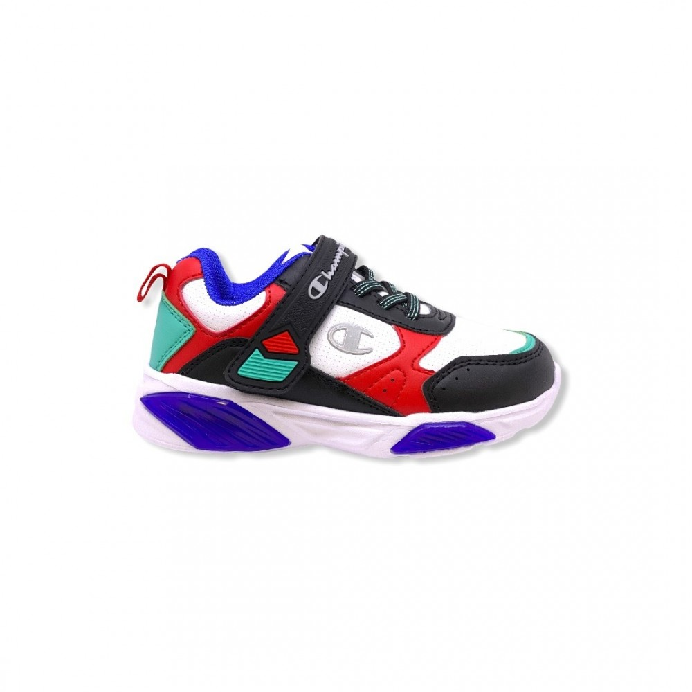Champion Low Cut Shoe WAVE B PS S32129-F20-WW001 Λευκό Multi με φωτάκια