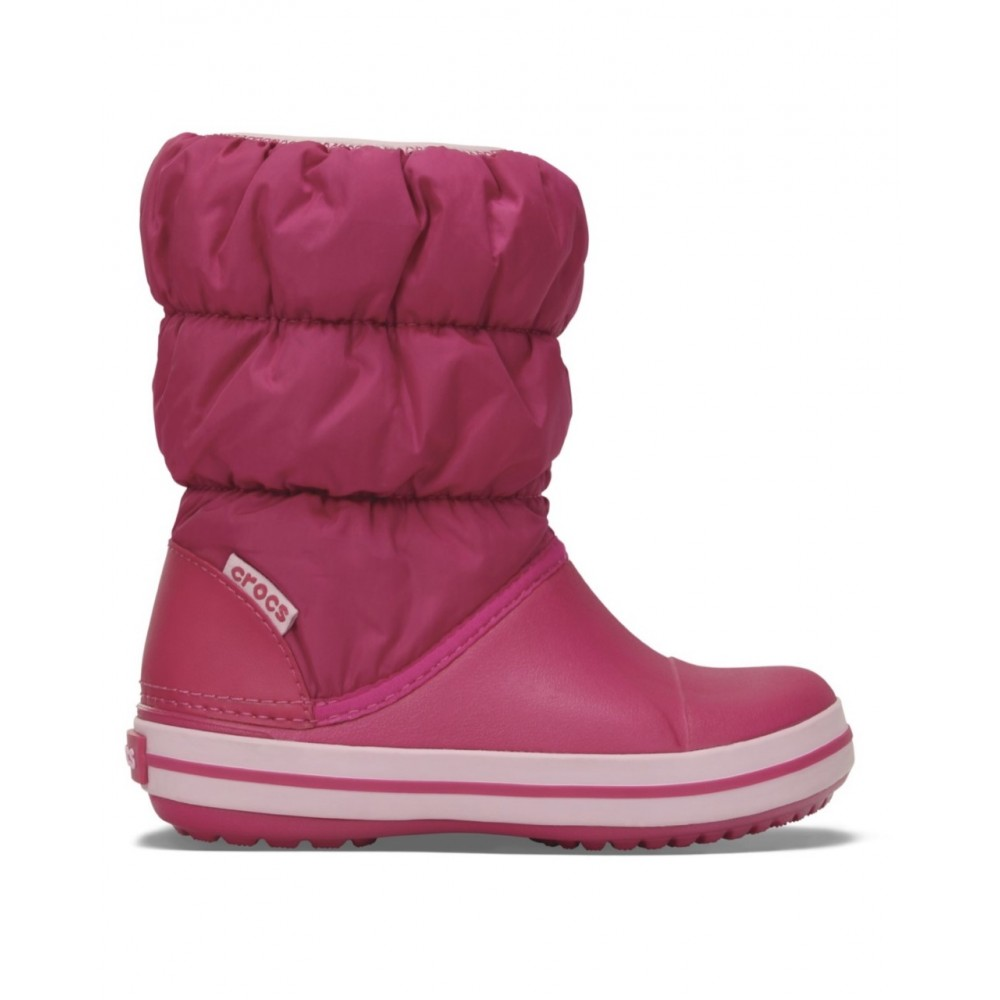 Crocs Winter Puff Boot Kids Φούξια 14613-46XO