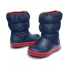 Crocs Winter Puff Boot Kids Μπλε 14613-485