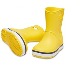 Crocs Crocband Rain Boot Kids 205827-734 Κίτρινο