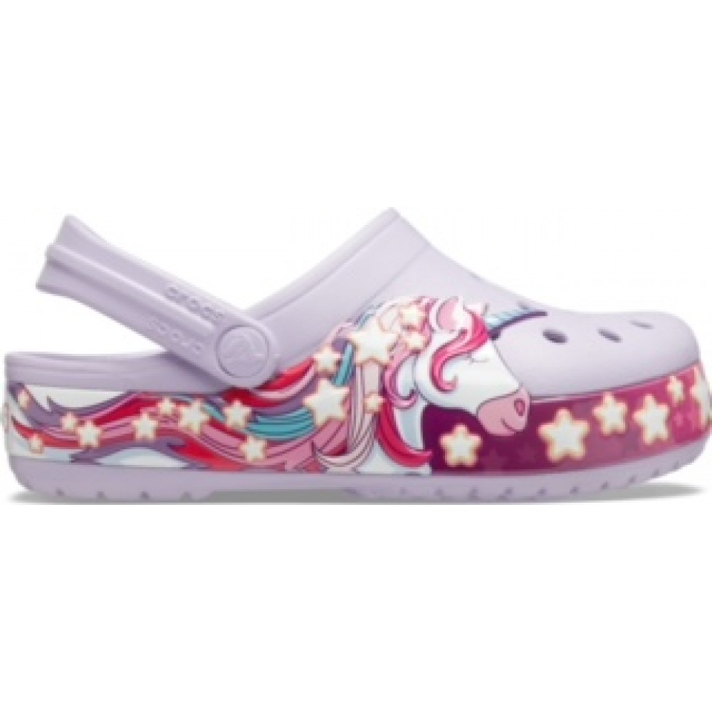 Crocs Funlab Unicorn Band cg k Lavender relaxed fit 206270-530