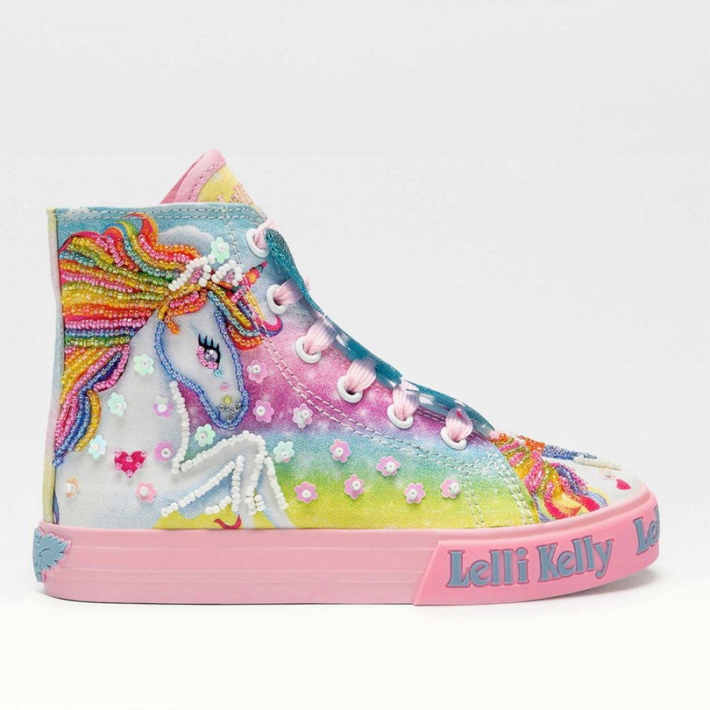 Lelli Kelly LK9090 Unicorn Multi Fantasy Πολύχρωμο