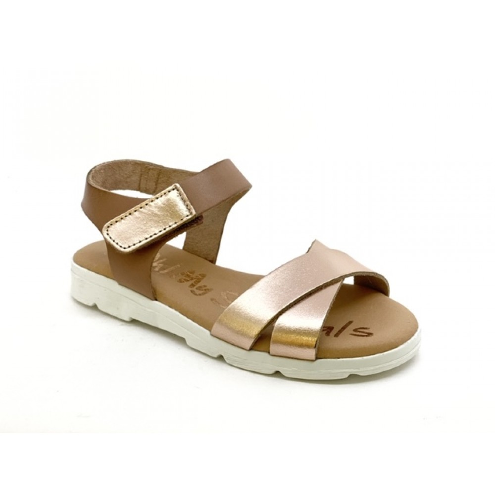 Oh! my Sandals 4628 Nude Combi