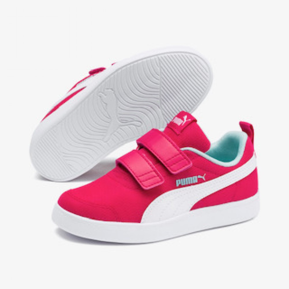 Puma Courtflex v2 Mesh V PS 371758 02 Φούξια