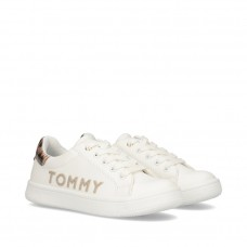 Tommy Hilfiger Low Cut Lace-Up Sneaker T3A4-30793-1016X285 Λευκό