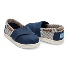 Toms Navy Canvas 10010048 Μπλε