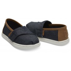 Toms Navy Heavy Denim 10013319 Μπλε Τζιν