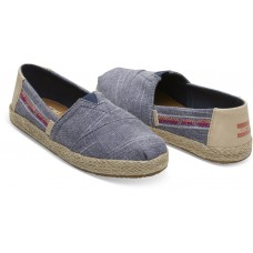 Toms Navy Rugged Chambray Rope 10013601 Τζιν