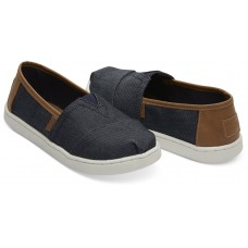 Toms Navy Heavy Denim 10013610 Μπλε Τζιν