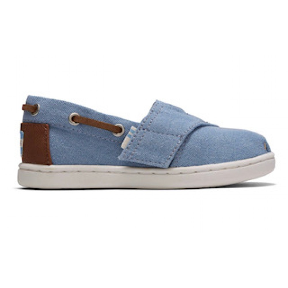 Toms Bimini Navy Denim 10015196